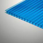 поликарбонат синий